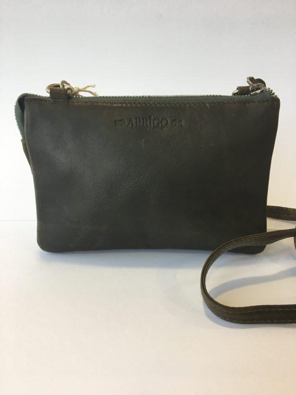Portemonnee Tasje Dames.Arrigo 184 1 Dames Tasje Portemonnee Bag In Bag Clutch Donkergroen