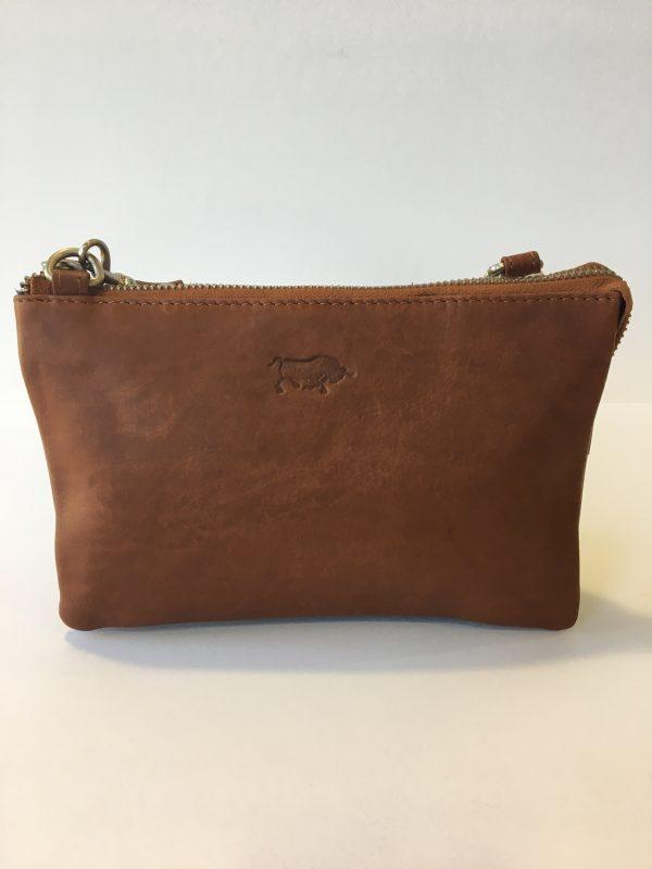 Portemonnee Tasje Dames.Arrigo 184 1 Dames Tasje Portemonnee Bag In Bag Clutch Cognac Top